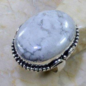 טבעת כסף בשיבוץ אבן היולייט מידה: 7.75