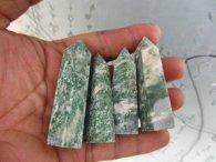 מוט מאבן ג'ספר ירוק משקל: 35 גרם