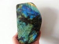 לברדורייט סלע מלוטש מהמם...משקל: 1481 גרם