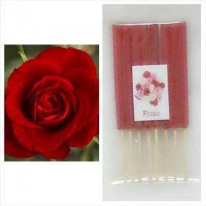 קטורת מיני 8 יחידות בחפיסה ריח ורד