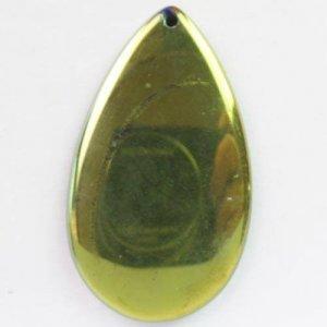 תליון מאבן אגט ברק גוון זהב