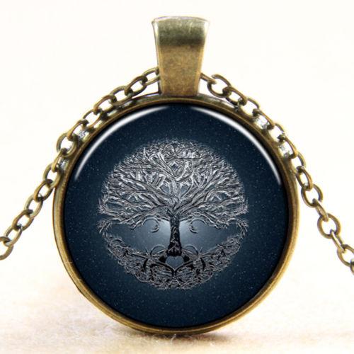 תליון ושרשרת ברונזה: עץ החיים