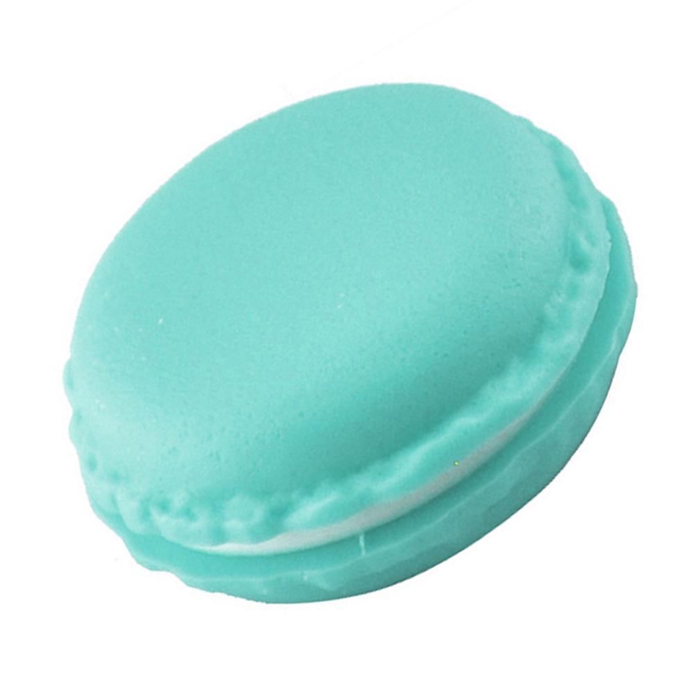 קופסת אריזה לטבעת עיצוב עוגיית מקרון ירוק