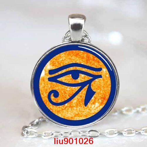תליון ושרשרת מוכסף סמל העין של רע (הגנה מעין הרע)
