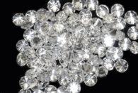 יהלום מלוטש עגול 0.01 קרט