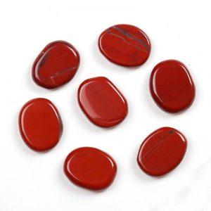 ג'ספר אדום חלוק בליטוש דיסקית