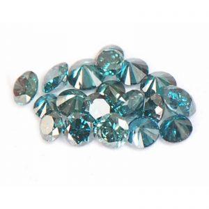 יהלומים כחולים עגולים מלוטשים 30.קרט בחבילה ניקיון: SI2-I2 כל יהלום: 1. - 2. נקודות