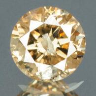 יהלום צהוב פנסי 0.16 קרט - תעודה ניקיון : I2