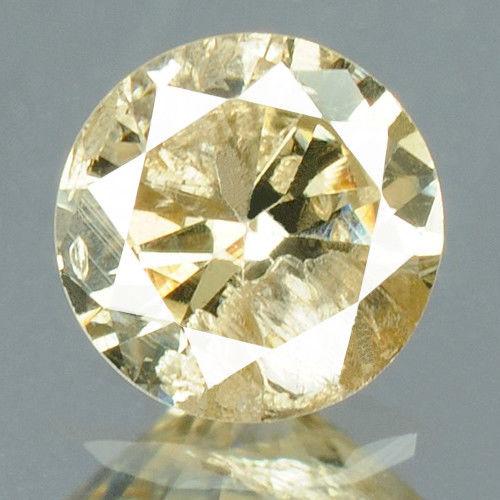 יהלום צהבהב פנסי - תעודה 0.18 קרט ניקיון : I3
