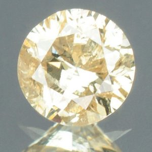 יהלום צהוב פנסי 0.13 קרט - תעודה ניקיון יהלום: I2