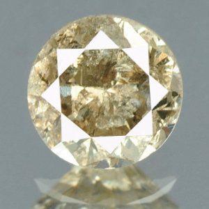 יהלום צהוב פנסי 0.19 קרט - תעודה ניקיון יהלום: I3