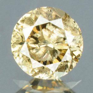 יהלום צהוב פנסי 0.16 קרט - תעודה ניקיון יהלום: I3