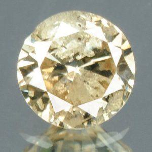 יהלום צהוב פנסי 0.17 קרט - תעודה ניקיון: I3