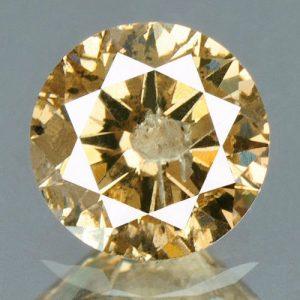 יהלום צהוב פנסי 0.31 קרט - תעודה ניקיון יהלום: I3
