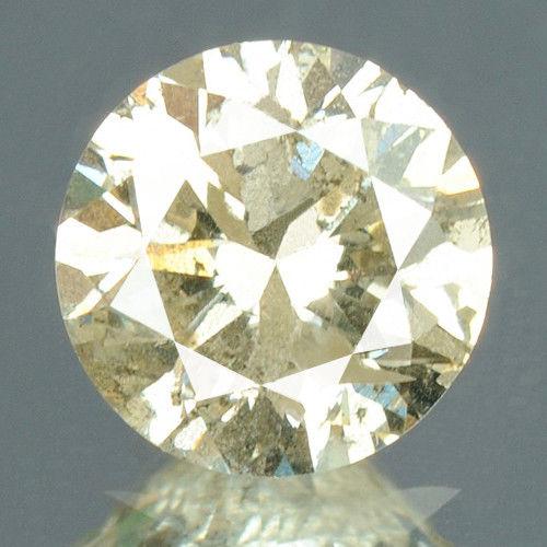 יהלום צהוב פנסי 0.27 קרט - תעודה ניקיון יהלום: I2