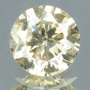 יהלום צהבהב פנסי - תעודה 0.20 קרט ניקיון:I1