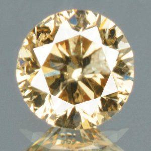 יהלום צהוב פנסי 0.15 קרט - תעודה ניקיון יהלום: I1