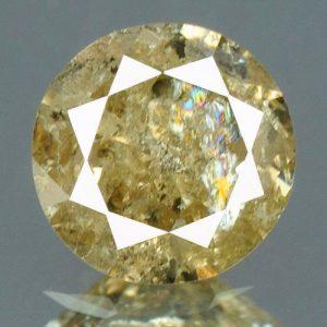 יהלום צהבהב פנסי - תעודה 0.18 קרט ניקיון:I3