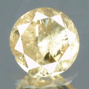 יהלום צהוב פנסי 0.19 קרט - תעודה ניקיון: I3