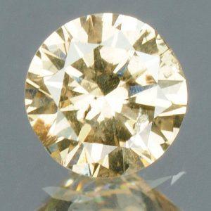 יהלום צהוב פנסי 0.17 קרט - תעודה ניקיון : SI3