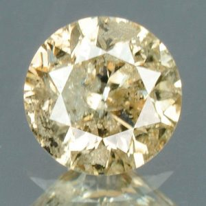 יהלום צהוב פנסי 0.18 קרט - תעודה ניקיון יהלום: I3