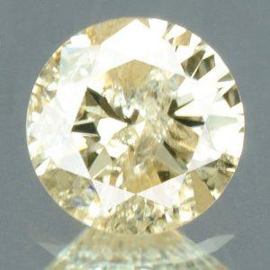 יהלום צהוב פנסי 0.21 קרט - תעודה ניקיון יהלום: I3