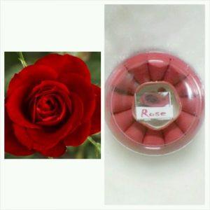 קטורת 24 יחידות ורד כולל מתקן לקטורת