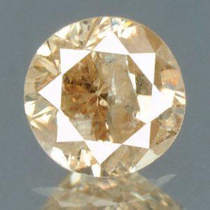 יהלום צהוב פנסי 0.18 קרט - תעודה ניקיון יהלום: I2