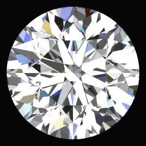 יהלום לבן עגול אפריקה - תעודה משקל: 0.042 קרט ניקיון: VVS1-VVS2