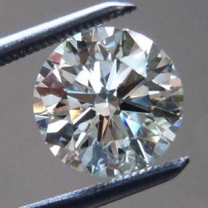 יהלום לבן עגול אפריקה - תעודה משקל: 0.052 קרט ניקיון: SI1-SI2