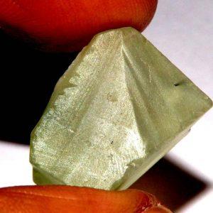 אקוומרין ירוק גלם לליטוש (אפריקה) משקל: 28.85 קרט