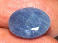 ספיר כחול מלוטש לשיבוץ (אפריקה) משקל: 5.11 קרט
