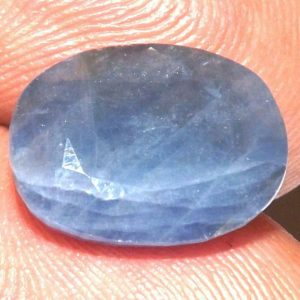 ספיר כחול מלוטש לשיבוץ ( אפריקה) משקל: 7.98 קרט