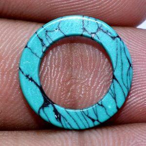 תכשיטנות: חישוק מאבן טורקיז לתליון או עגילים