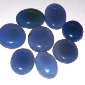 קלצידוני כחול מלוטש לשיבוץ (אפריקה) ליטוש קבושון מידה: כ 13 קרט