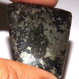 קאלקו פיריט זהב מלוטש לשיבוץ (הודו) משקל: 76.70 קרט