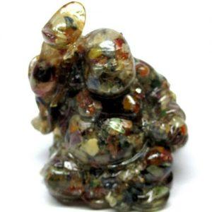 אופל מעורב צבעים מפוסל בתבנית עבודת יד (אפריקה) פיסול מאהא קצ'אינה משקל: 469 קרט