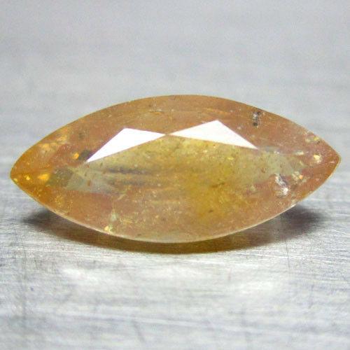 ספיר צהוב כתום מלוטש לשיבוץ ליטוש מרקיזה אפריקה משקל: 1.87 קרט