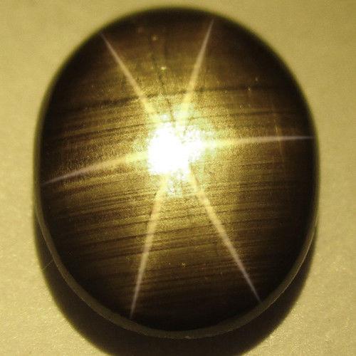 ספיר סטאר שחור לשיבוץ ליטוש קבושון - תאילנד משקל: 1.21 קרט