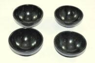 """קערת אובסידיאן שחור בקוטר: 5-6 ס""""מ משקל: 80-90 גרם"""