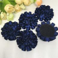 3 פרחים לקישוט אריזה גוון כחול