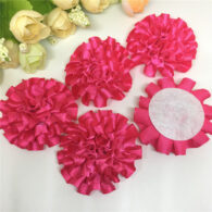 3 פרחים לקישוט אריזה גוון ורוד