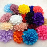 10 פרחים לקישוט אריזה בצבעים שונים