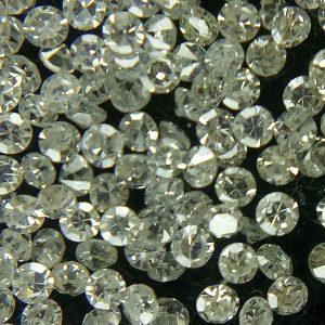 """50 יהלומים לשיבוץ ליטוש עגול קוטר: 0.70 מ""""מ ניקיון: i צבע: f"""