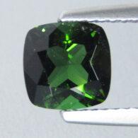 טורמלין ירוק מלוטש לשיבוץ - מוזמביק ניקיון: SI משקל: 1.52 קרט
